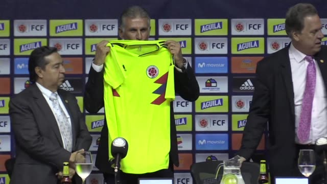 Carlos Queiroz is named coach of Colombia replacing Argentine Jose Pekerman who left the post in September and has signed a four year contract his...
