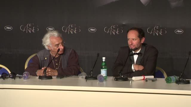 carlos reygadas on the negative reaction to his film at winners press conference: 65th cannes film festival on may 27, 2012 in cannes, france - film negative stock videos & royalty-free footage