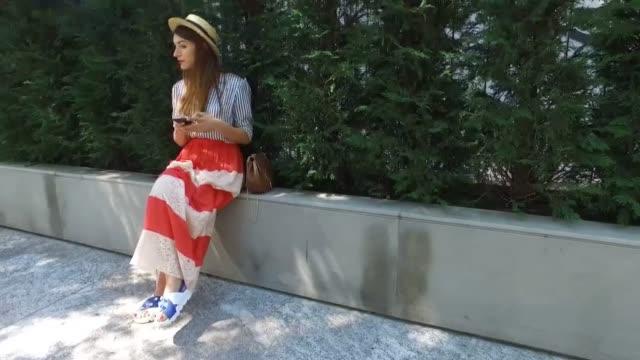 Carlotta wearing a Tessa shirt Jucca skirt Giovanni Fabiani shoes Chloe bag during Milan Men's Fashion Week SS17 on June 20 2016 in Milan Italy