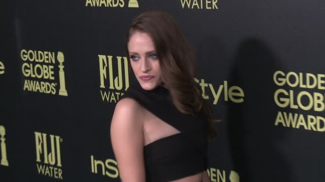 vídeos de stock e filmes b-roll de carly chaikin at the hollywood foreign press association and instyle celebrate the 2016 golden globe award season at ysabel on november 17 2015 in... - prémio globo de ouro