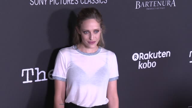 """carly chaikin at the """"the wife"""" los angeles premiere at pacific design center on july 23, 2018 in west hollywood, california. - pacific design center stock videos & royalty-free footage"""