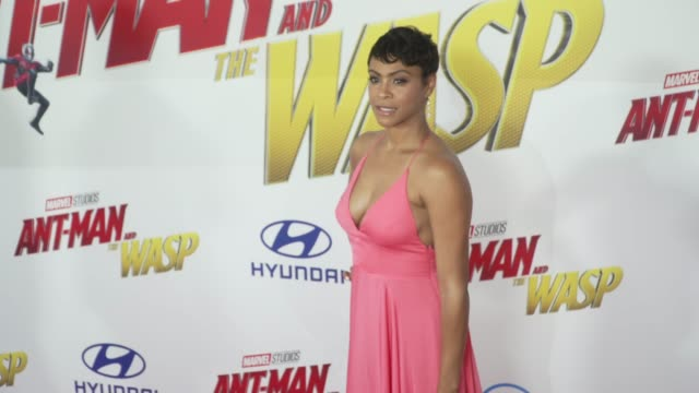 Carly Hughes at the AntMan and the Wasp World Premiere at the El Capitan Theatre on June 25 2018 in Hollywood California