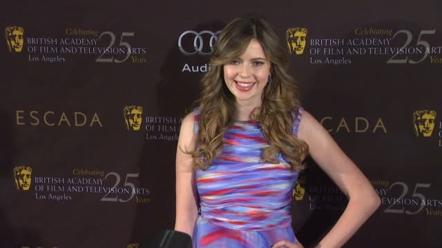carly steel at bafta los angeles 18th annual awards season tea party on 1/14/2012 in beverly hills ca - metal blend stock videos and b-roll footage