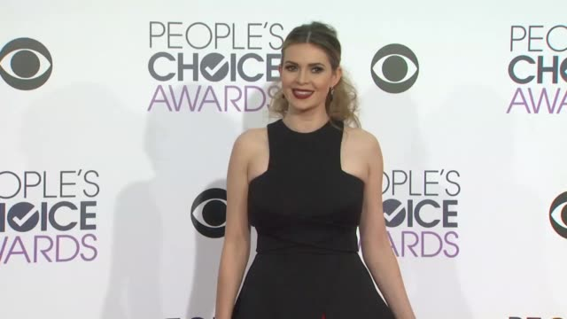 Carly Steel at the People's Choice Awards 2016 at Nokia Plaza LA LIVE on January 6 2016 in Los Angeles California