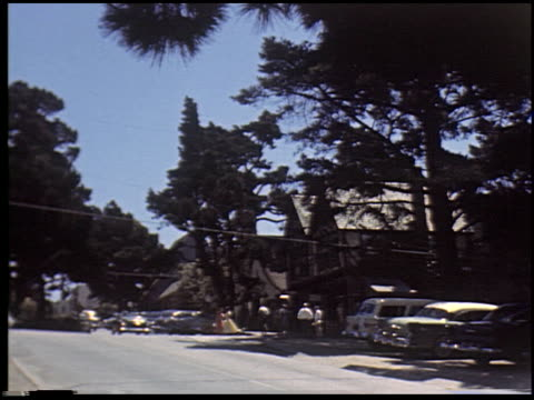 [carmel, california, august 2, 1955] - 11 of 14 - see other clips from this shoot 2299 stock videos and b-roll footage