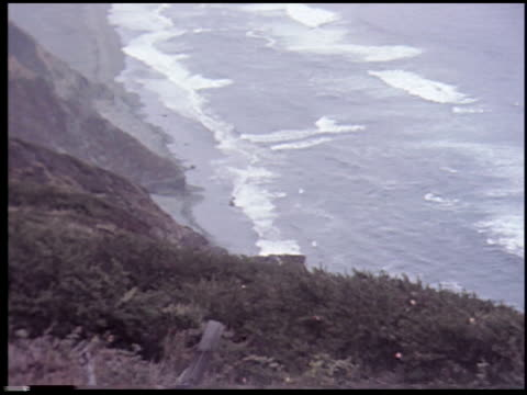 [carmel, california, august 2, 1955] - 2 of 14 - see other clips from this shoot 2299 stock videos and b-roll footage