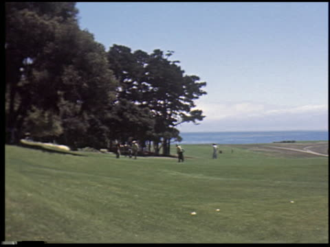 [carmel, california, august 2, 1955] - 5 of 14 - see other clips from this shoot 2299 stock videos and b-roll footage