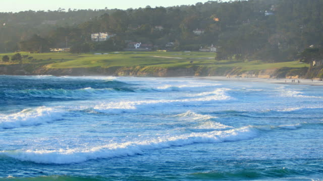 carmel-by-the-sea, ca: 4k - carmel california stock videos and b-roll footage