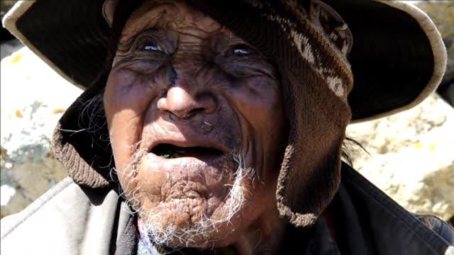 Carmelo Flores Laura es segun los registros el hombre mas viejo del mundo tiene 123 anos VOICED Boliviano es el hombre mas viejo on August 16 2013 in...