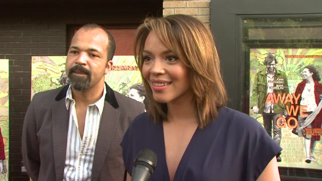 carmen ejogo talking about her character grace working with maya sam as a director rehearsals and how the location made her feel like she was on... - anmut stock-videos und b-roll-filmmaterial