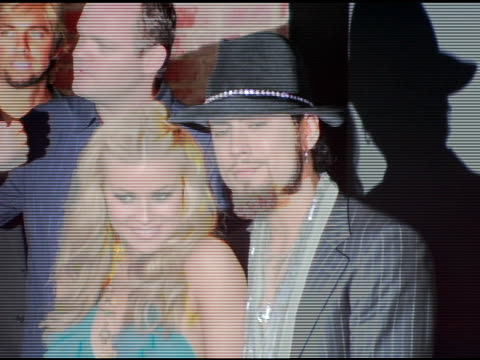 carmen electra and dave navarro at the rokbar hollywood launch party at rokbar in hollywood california on june 30 2005 - carmen electra stock videos and b-roll footage