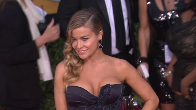 carmen electra at 19th annual screen actors guild awards arrivals 1/27/2013 in los angeles ca - carmen electra stock videos and b-roll footage