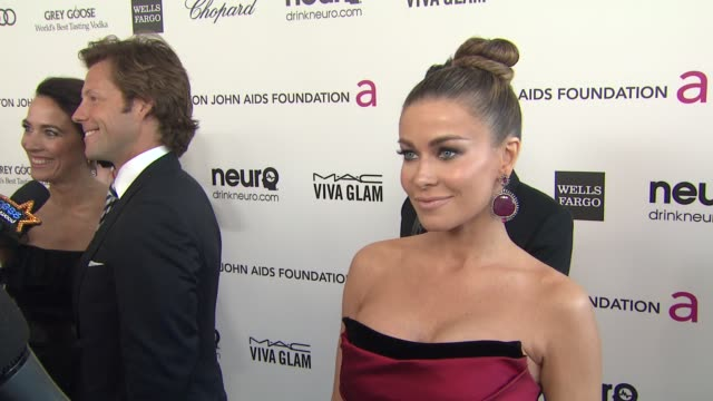 INTERVIEW Carmen Electra at Elton John AIDS Foundation Presents 21st Annual Academy Awards Viewing Party Sponsored By Chopard Neuro Drinks And Wells...