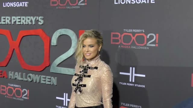 Carmen Electra at Lionsgate Presents The Los Angeles Premiere of Tyler Perry's 'Boo 2 A Madea Halloween' at LA LIVE on October 16 2017 in Los Angeles...
