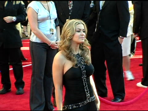 carmen electra at the 2004 american music awards red carpet at the shrine auditorium in los angeles california on november 14 2004 - carmen electra stock videos and b-roll footage