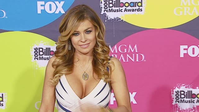 carmen electra at the 2006 billboard music awards at the mgm grand hotel in las vegas nevada on december 4 2006 - mgm grand las vegas stock videos & royalty-free footage