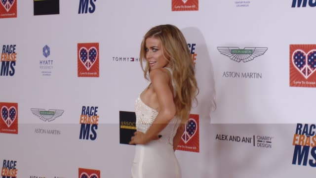 carmen electra at the 22nd annual race to erase ms in los angeles ca - race to erase ms stock videos and b-roll footage
