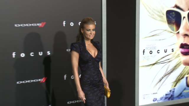 carmen electra at the focus los angeles premiere at tcl chinese theatre on february 24 2015 in hollywood california - carmen electra stock videos and b-roll footage