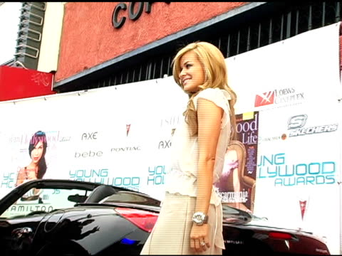 carmen electra at the hollywood life's young hollywood awards and afterparty sponsored by axe on may 1 2005 - carmen electra stock videos and b-roll footage