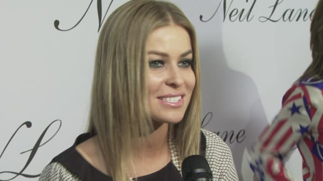 Carmen Electra at the Neil Lane Jewelry opens flagship store at Los Angeles CA