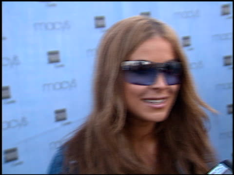 carmen electra at the passport 01 at barker hanger in santa monica california on september 22 2001 - carmen electra stock videos and b-roll footage