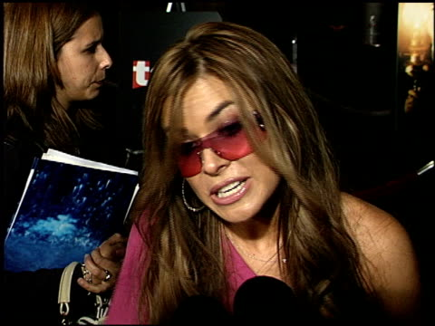 carmen electra at the premiere of 'the others' at dga theater in los angeles california on august 7 2001 - 2001 stock videos & royalty-free footage