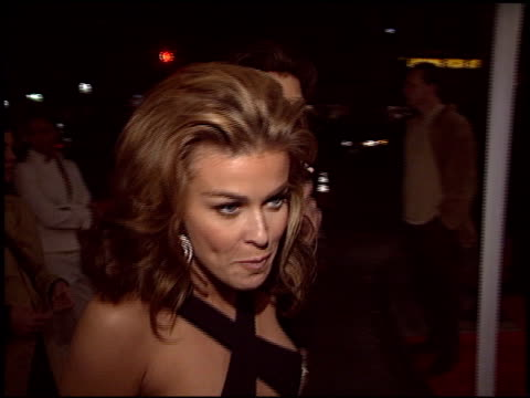 carmen electra at the 'starsky and hutch' premiere on february 26 2004 - carmen electra stock videos and b-roll footage