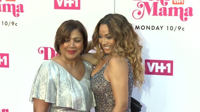 carmen surillo la la anthony at vh1 dear mama a love letter to mom premieres monday may 6th at 10pm et/pt on vh1 in los angeles ca - vh1 stock videos & royalty-free footage