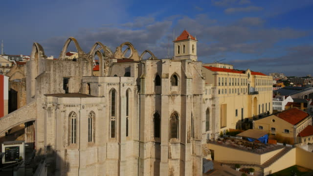 Carmo Convent, old town of Lisbon, Portugal