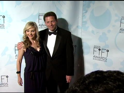 Carmody and Michael Fishoff at the Fragrance Foundation Presents 36th Annual FiFi Awards and Celebration at the Park Avenue Armory in New York New...