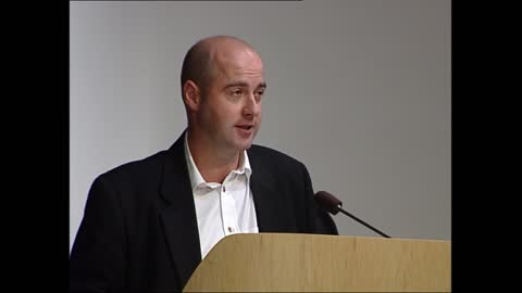 carnegie book awards; england: london: british library: int james naughtie speaking sot - announces 'highly commended' books for kate greenaway medal... - james naughtie stock-videos und b-roll-filmmaterial