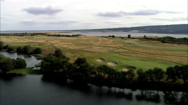 Carnegie Golf Course  - Aerial View - Scotland, Highland, United Kingdom