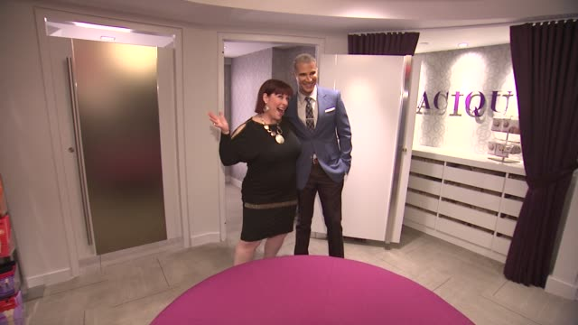 Carnie Wilson and Jay Manuel at Lane Bryant 34th Street Flagship Store Opening Party at Lane Bryant Flagship Store on February 28 2013 in New York...