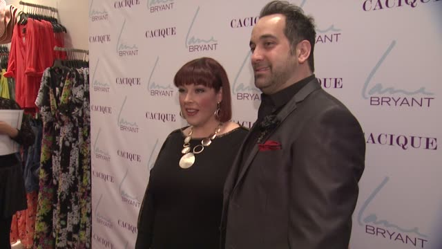 Carnie Wilson and stylist Art Conn at Lane Bryant 34th Street Flagship Store Opening Party at Lane Bryant Flagship Store on February 28 2013 in New...