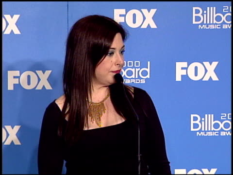 Carnie Wilson at the 2000 Billboard Music Awards press room on December 5 2000