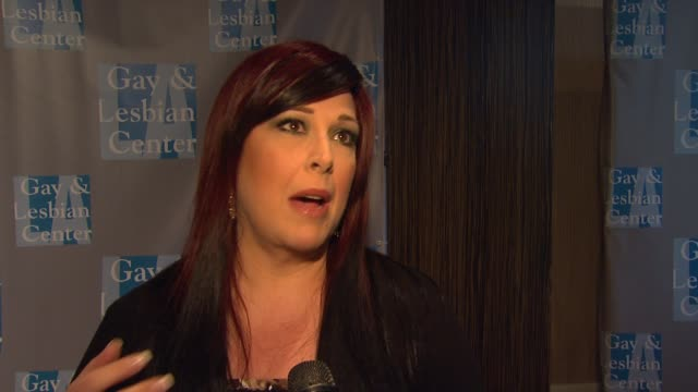 Carnie Wilson on supporting tonight's cause and on the importance of the event at LA Gay Lesbian Center's An Evening With Women on 5/19/12 in Los...