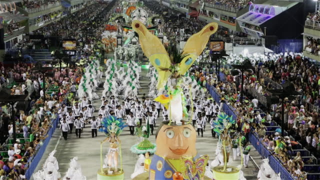 LS, TU, HA Carnival parade / Rio de Janeiro, Brazil