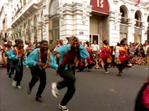 MS, Carnival performers, Santiago de Cuba, Cuba