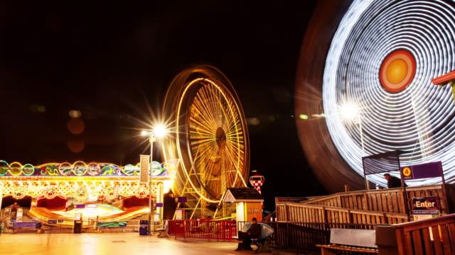 J0022 Carnival Rides Time Lapse