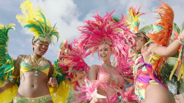 carnival - fasching stock-videos und b-roll-filmmaterial
