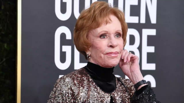 carol burnett attends the 77th annual golden globe awards at the beverly hilton hotel on january 05 2020 in beverly hills california - the beverly hilton hotel stock-videos und b-roll-filmmaterial