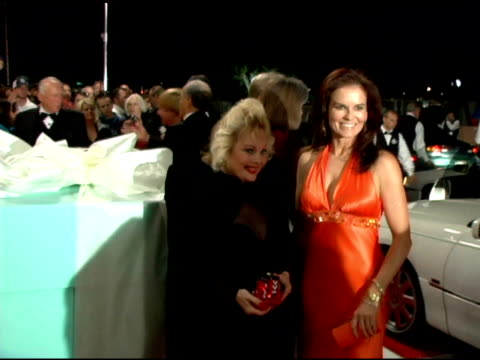 carol connors and denise brown at the 2006 palm springs international film festival gala at palm springs convention center in palm springs,... - carol connors stock-videos und b-roll-filmmaterial