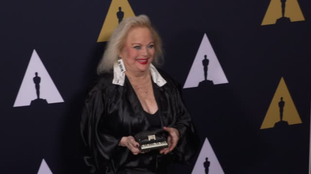 """carol connors at the """"grease"""" 40th anniversary at samuel goldwyn theater on august 15, 2018 in beverly hills, california. - carol connors stock-videos und b-roll-filmmaterial"""