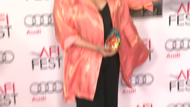 """carol connors; jay falz at afi fest 2013 premiere of """"the secret life of walter mitty"""" in hollywood, ca, on . - carol connors stock-videos und b-roll-filmmaterial"""