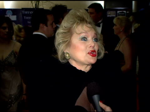 carol connors on coming to the palm springs film festival for years and on sonny bono's vision for the festival at the 2006 palm springs... - carol connors stock-videos und b-roll-filmmaterial