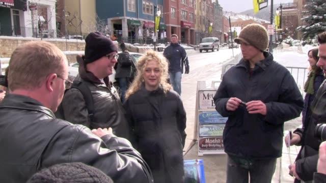 stockvideo's en b-roll-footage met carol kane at the 2012 sundance film festival in park city, utah, on 1/23/2012 - sundance film festival