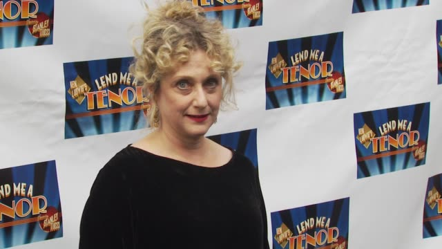 carol kane at the opening of 'lend me a tenor' arrivals at new york ny - lend me a tenor stock-videos und b-roll-filmmaterial