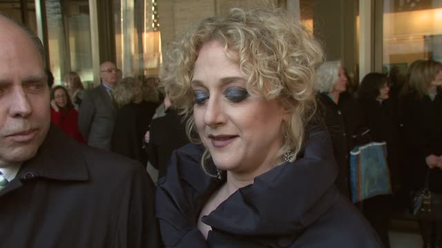 carol kane on the most admirable qualitites of keaton and her longstanding friendship with the actress at the film society of lincoln center tribute... - diane keaton stock videos & royalty-free footage