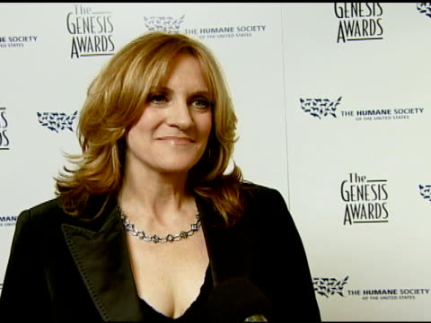 Carol Leifer on event and rewarding people for helping animals at the 2008 Genesis Awards at the Beverly Hilton in Beverly Hills California on March...