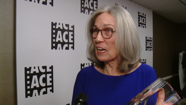INTERVIEW Carol Littleton at 66th Annual ACE Eddie Awards in Los Angeles CA